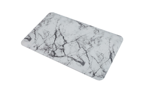 20X39X0.75inch Marble PVC Surface PU Foam Fatigue Kitchen Floor Mats